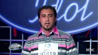 Arab Idol -تجارب الاداء - عبد الكريم حمدان