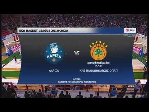 ΛΑΡΙΣΑ – ΠΑΟ | Basket League | 03/11/2019 | ΕΡΤ