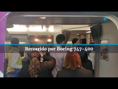 Recorrido en Boeing 747-400 de Wamos Air