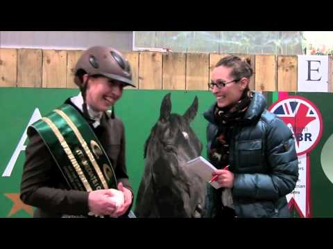 Becky Moody untouchable in inter I freestyle at British Dressage Winter Championships
