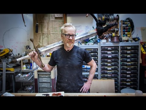 Adam Savage s One Day Builds Hellboy Sword