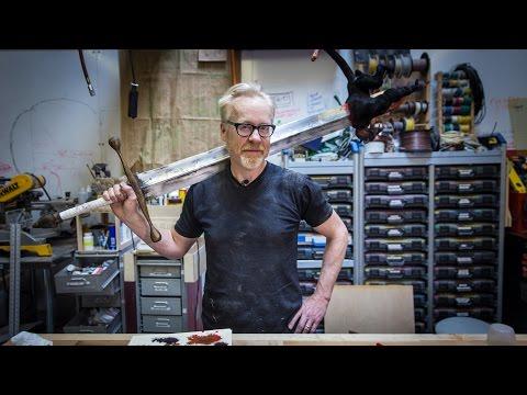 Adam Savage s One Day Builds Hellboy Sword
