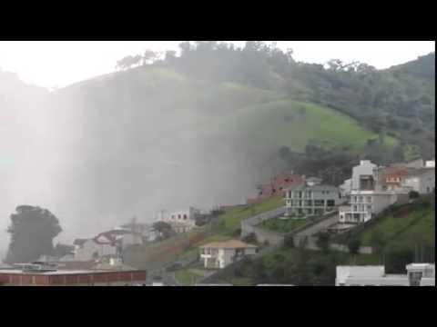Chuva chegando em Itajuba.