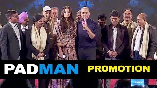 Video Padman Movie Promotion Full Video HD | Akshay Kumar, Sonam Kapoor MP3, 3GP, MP4, WEBM, AVI, FLV Januari 2018