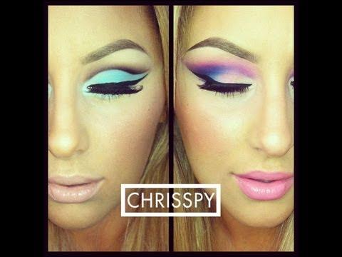 BH Cosmetics 60′s Eyeshadow Palette- Two Eye Looks