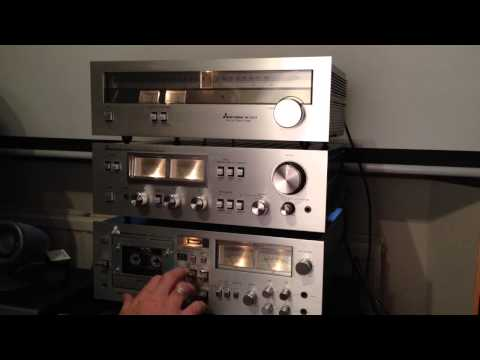 vintage Hifi - Mitsubishi Hifi amplifier and recording of cd quality.