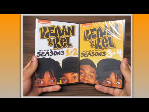 Kenan & Kel | The [in] Complete Series DVD Unboxing + Review