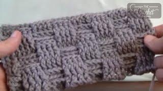 Video Crochet Basket Weave Stitch - Blanket MP3, 3GP, MP4, WEBM, AVI, FLV Juni 2019