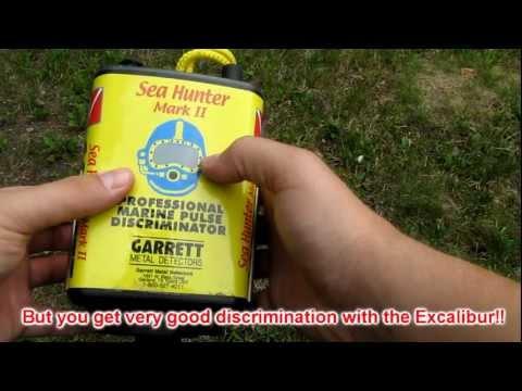 Metal Detector Review - Garrett Sea Hunter Mark II