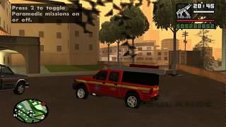 Ford Ranger Bombeiros de Minas Gerais GTA San Andreas