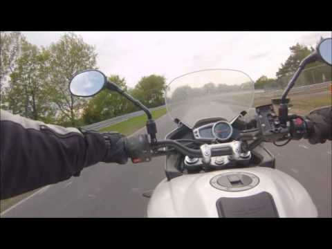A lap of the Nurburgring on my Triumph Tiger Sport