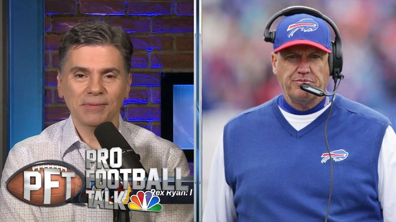 Rex Ryan makes it clear he wants Washington Redskins job   Pro Football Talk   NBC Sports - YouTube