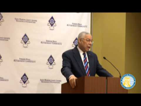 Vinson Hall 50th Commemoration of the Vietnam War General Colin Powell
