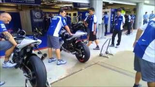 5. motoGP-Bike. Engine Start up / Warm up (compilation)