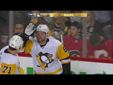 Video: Pittsburgh Penguins vs Calgary Flames | NHL | OCT-25-2018 | 21:00 EST