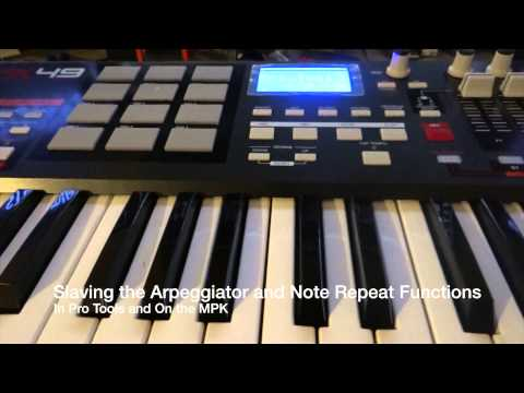 How to setup AKAI MPK to Pro Tools
