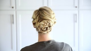 Double French Updo | Cute Girls Hairstyles by Cute Girls Hairstyles