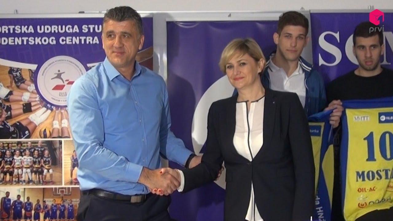 NLB Banka sponzor Sportske udruge studenata Studentskog centra Mostar
