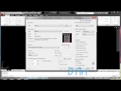 D-ART Tutorial : Autocad Plot Scale