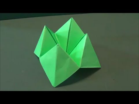 Toy Tutorial - 013 -- Cootie Catcher