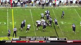 Damontre Moore vs Northwestern (2011)