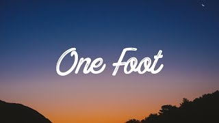 image of WALK THE MOON - One Foot (Lyrics / Lyrics Video)