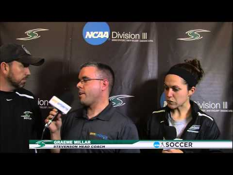 Stevenson Women's Soccer vs Hood Post Game Interviews