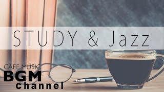 Relaxing Cafe Music For Study - Jazz & Bossa Nova Music - Background Cafe Music