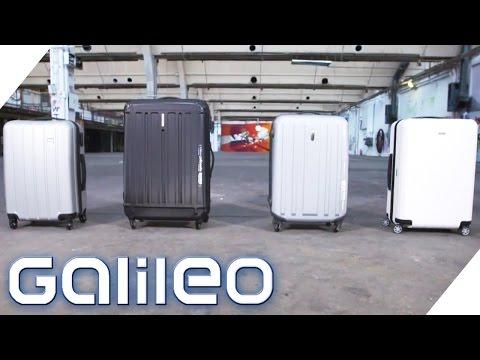 Reisekoffer im Test | Galileo | ProSieben