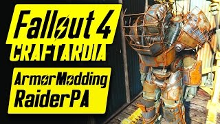 Fallout 4 Power Armor Customization - Raider Power Armor - Fallout 4 Armor Modding [PC]