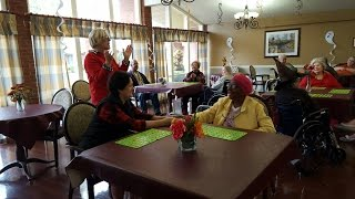 FCC Member Brings Joy to Local Health Care and Rehabilitation Center