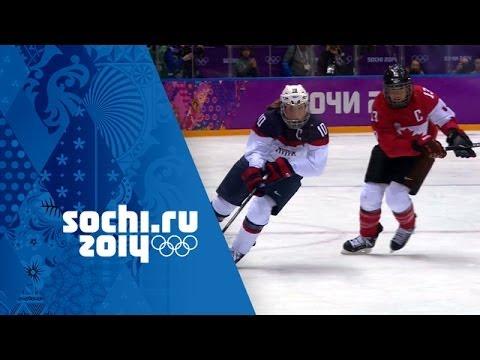 Ice Hockey – Canada 3 – 2 USA – Women's Full Gold Medal Match | Sochi 2014 Winter Olympics