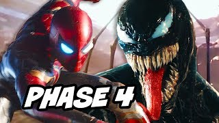 Spider-Man Avengers Phase 4 Movie and Venom Verse News Explained