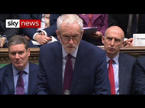 Jeremy Corbyn: Government In Complete 'disarray'