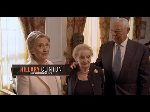 "Madam Secretary ""hillary Clinton, Madeleine Albright & General Colin Powell Guest"" Featurette"