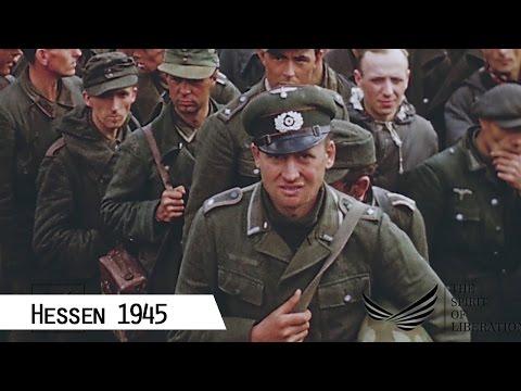 Hessen 1945 kurz nach Kriegsende im Kreis Frankenberg ...