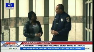 Stolen Items Of Channelstv Reporter In The U S  Recovered By Police