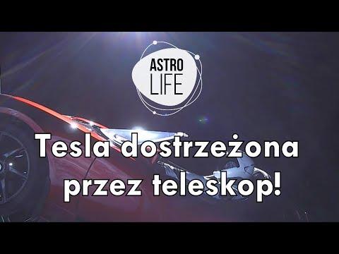AstroFlesz #4 - Lot testowy Falcona Heavy. Tesla SpaceX dostrzeżona przez teleskop! - AstroLife_A héten feltöltött legjobb űrhajó videók