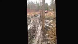 8. Mudding On my 2013 arctic cat 500