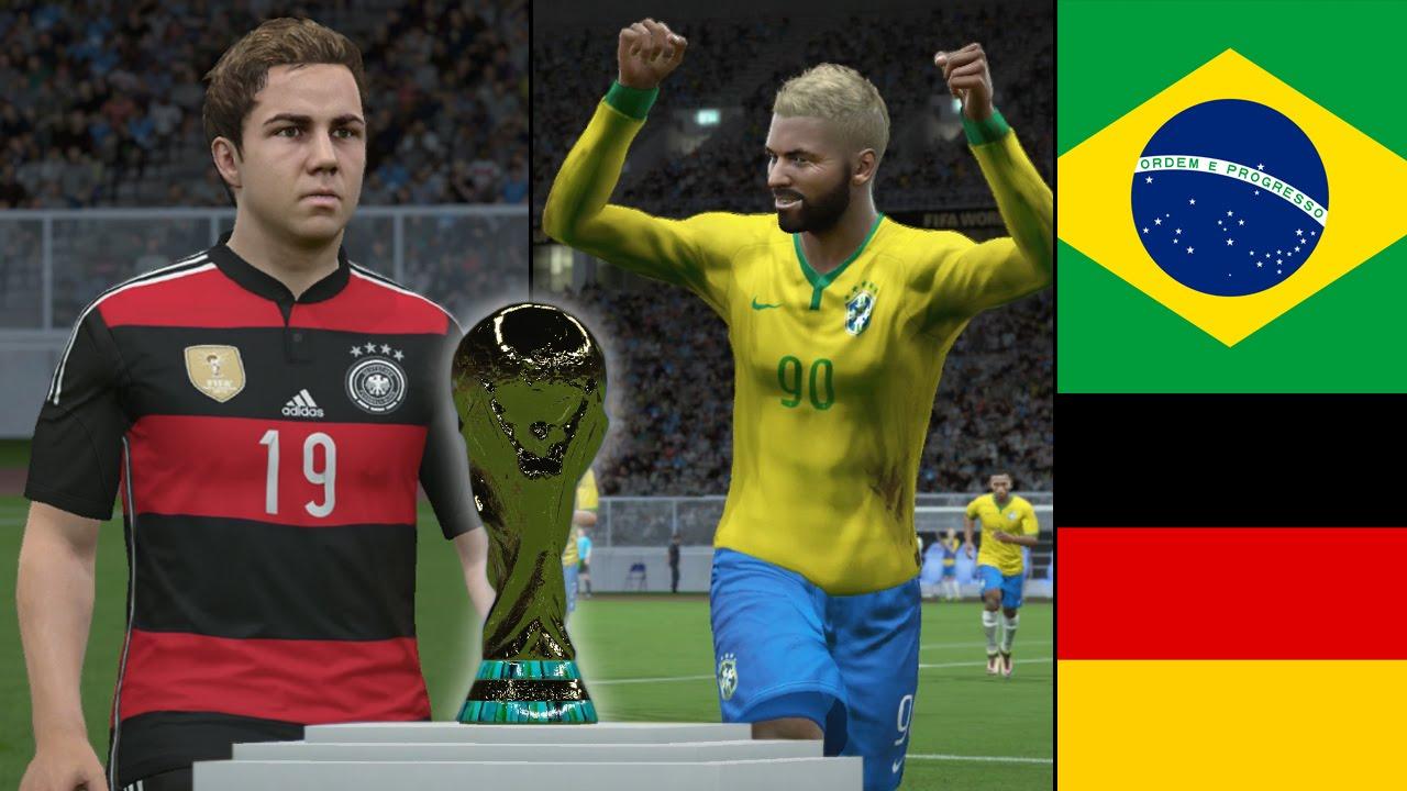2018 FIFA World Cup Final – Brazil vs Germany