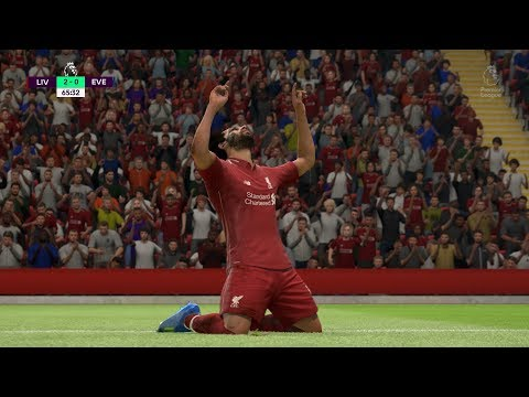 FIFA 19 | Liverpool Vs Everton - Anfield - (Full Gameplay Xbox One X)