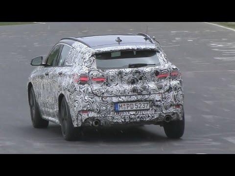 2018 BMW X2 F39 testing on Nürburgring!