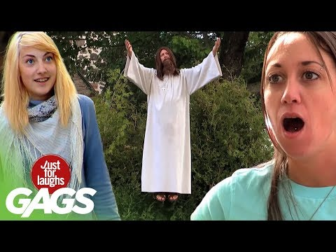 Best of Just For Laughs Gags – Defying Gravity Insane Pranks