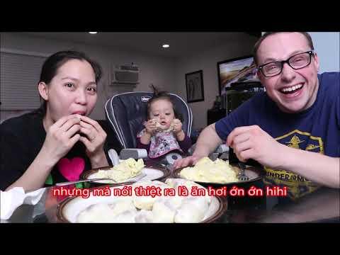 Vlog 573 ll Chồng Mỹ Thử 3 Loại Sầu Riêng Và Rút Ra Cái Kết