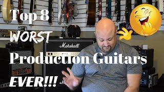 Video Top 8 WORST Production Guitars EVER! MP3, 3GP, MP4, WEBM, AVI, FLV Agustus 2018