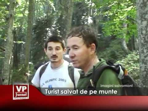 Turist salvat în Buşteni
