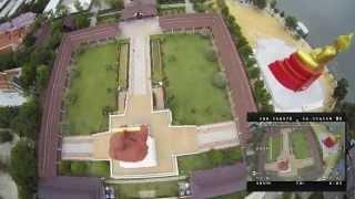 Pathum Thani Thailand  city photos : FPV Quadcopter - TBS Discovery - Puek Tian - Wat Bot Pathum Thani - Thailand Adventures