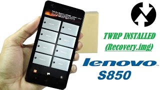 This video is a complete walkthrough to install TWRP custom recovery in the Lenovo S850. This method doesn't even need a computer and can be done in seconds on the phone.WARNING:by flashing a new recovery or using your phone with root access, you may be voiding your warranty. We take no responsibility if your phone is damaged or bricked by following these instructions.Rooting lenovo S850 isn't difficult you can use kingoroot app to root your device, the link is at the end.In order to install a custom rom you need to backup your stock rom for which you need to install a custom recovery.The video is a short tutorial by which u can install TWRP recovery in lenovo S850.The recovery.img file had lots of issues so i got the version in which no touch screen issue is solved during recovery mode.All the download links needed are given below:→Kingo root:http://viid.me/qeiVFl→Mobile uncle tools:http://viid.me/qeiBtz{might not be available on playstore but anyways download it officially(google it)}→Recovery.img:http://viid.me/qeiBS2-If stuck anywhere or any questions please comment below-