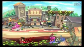 SSB4: Team China vs The World 5vs5