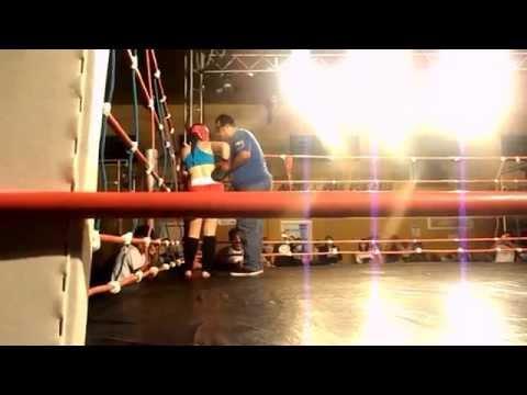 4 DESAFIO G1 fighters em guapirama Luta muaythai - Isabela queiroz junior vital
